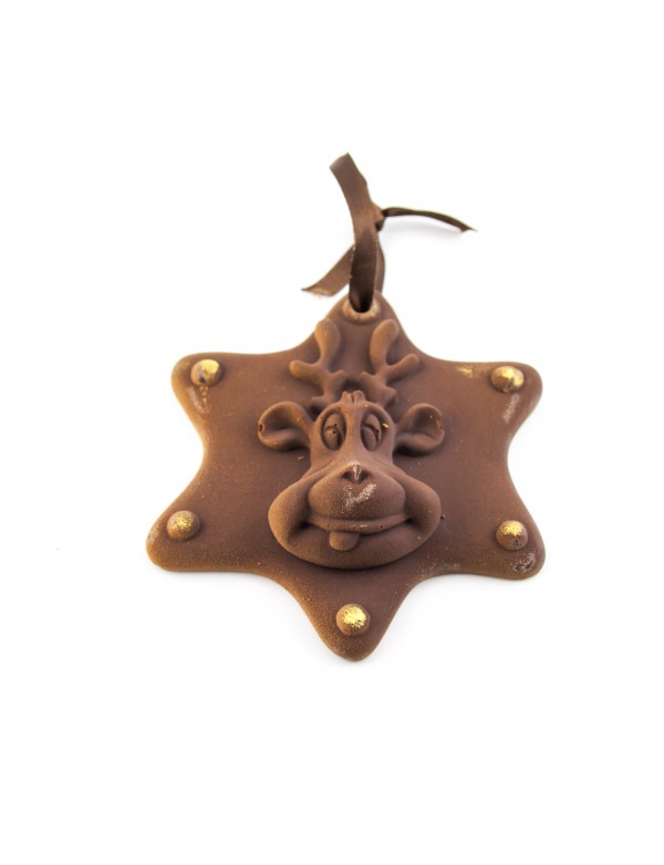 Etoile au Chocolat Motif Cerf