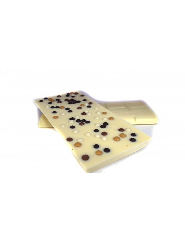 Tablette Choco Blanc Billes Croustillantes