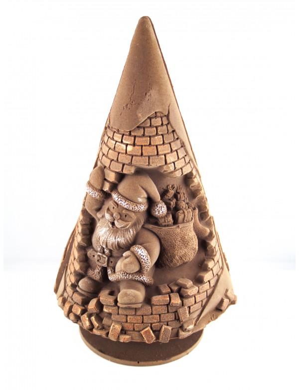 Sapin Père Noël Chocolat