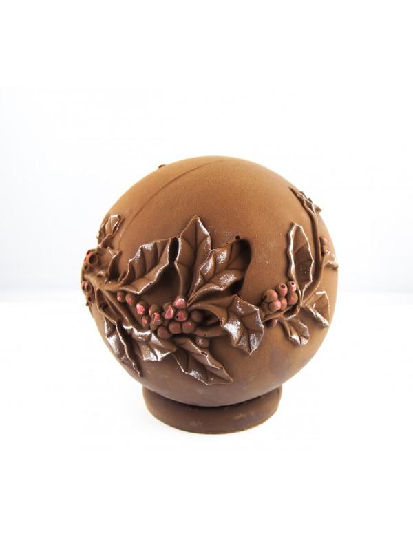 Boule Noël Chocolat Noir