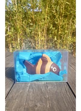 Poisson en Chocolat noir petit modèle